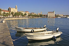 City harbor, Split Stock Photography