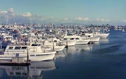 City harbor view Stock Photography