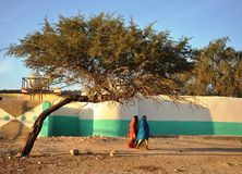 City of Hargeisa. African city of Hargeysa on the territory of Somaliland Stock Photography