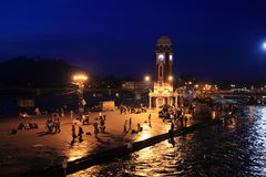 The City of Haridwar in India Royalty Free Stock Photos