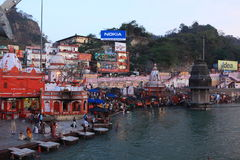 The City of Haridwar in India Stock Photo