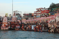 The City of Haridwar in India Royalty Free Stock Photo