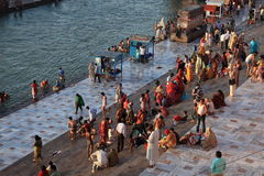 The City of Haridwar in India Stock Photography