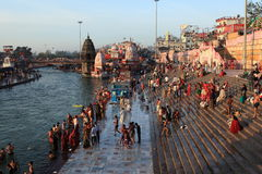 The City of Haridwar in India Royalty Free Stock Photography