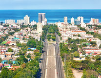 The city of Havana on a beautiful summer day Royalty Free Stock Photography