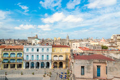 The city of Havana on a beautiful summer day Stock Images