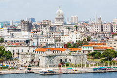 The city of Havana including famous buildings Stock Photo