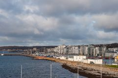 City of Helsingborg in Sweden. On an autumn day Stock Images