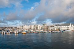 City of Helsingborg, Sweden. On a cloudy autumn day Stock Image