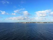 The city of Helsingor in Denmark Stock Photo