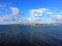 The city of Helsingor in Denmark Royalty Free Stock Photography