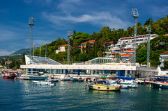 City Herceg Novi. Stock Images