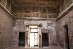 The City of Herculaneum Stock Image