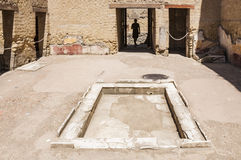 The City of Herculaneum stock images