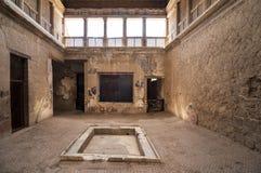 The City of Herculaneum royalty free stock photo