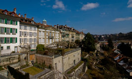 City of heritage. The city of Bern is featured in the list of UNESCO heritage stock photos