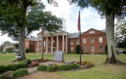 Hernando Courthouse, Hernando, Mississippi. Royalty Free Stock Images