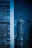 City high-rise building glass curtain wall Stock Photography