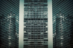 City high-rise building glass curtain wall Stock Image