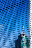 City high-rise building glass curtain wall Royalty Free Stock Photo