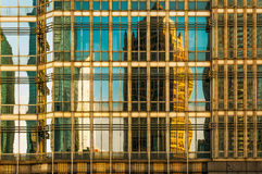 City high-rise building glass curtain wall Royalty Free Stock Photos