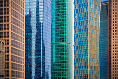City high-rise building glass curtain wall Royalty Free Stock Image