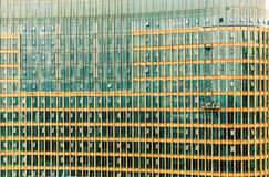 City high-rise building glass curtain wall Royalty Free Stock Images