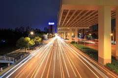 City highway at night Royalty Free Stock Photography