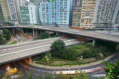 City highways Royalty Free Stock Images