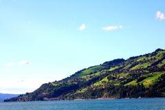 City on Hill overlooking Interlachen Lake Royalty Free Stock Photography