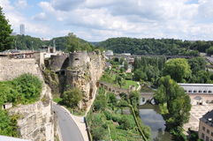 Luxembourg landscape Stock Photography