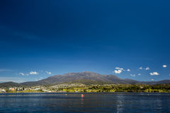 City of Hobart. For across the Derwent River Stock Photos