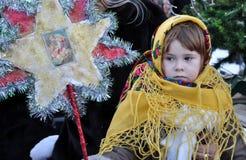City Holiday Christmas carols_11 Stock Photography