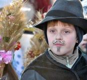 City Holiday Christmas carols_5 Stock Images