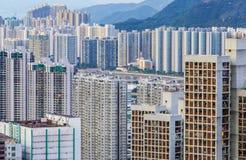 City in Hong Kong Royalty Free Stock Image