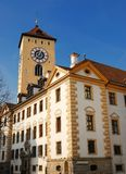 City house of Regensburg Royalty Free Stock Images