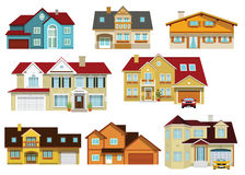 City houses Stock Image