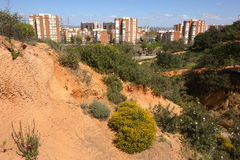City Huelva, Park Moret, Spain Royalty Free Stock Images