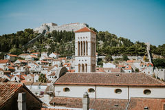 City of Hvar Royalty Free Stock Image