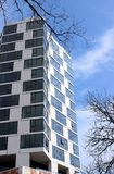 City Hyde Park, Chicago, Studio Gang Architects. City Hyde Park is an apartment complex in Chicago`s Hyde Park neighborhood designed by Studio Gang, the Stock Image