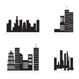 City Icons Stock Photography