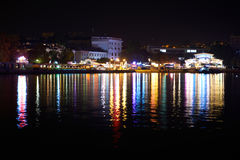 City illumination at night Royalty Free Stock Photography