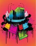City illustration Stock Photo