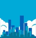 City illustration Stock Photography