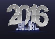 2016 city Stock Image