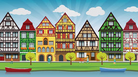 City illustration Royalty Free Stock Photography