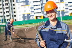 City improvement, landscaping and urban beautification Stock Image