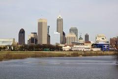 City of Indianapolis. Indiana, USA royalty free stock image