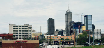 City of Indianapolis, Indiana stock photography