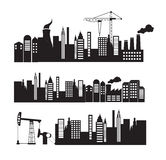 City and industry Stock Photography